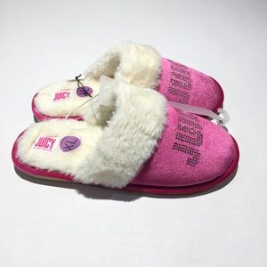 0e016ab2e1c Juicy Couture Shoes - Juicy by Juicy Couture Gabi Crystal Slippers
